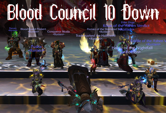 Blood Prince Council 10 Down