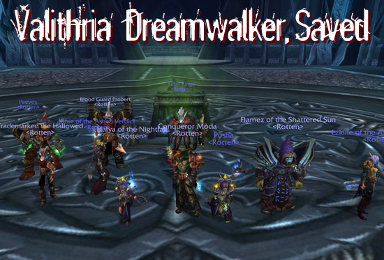 Valithria Dreamwalker, Saved