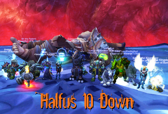 Halfus 10 Down