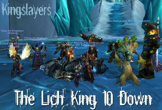 The Lich King 10 Down