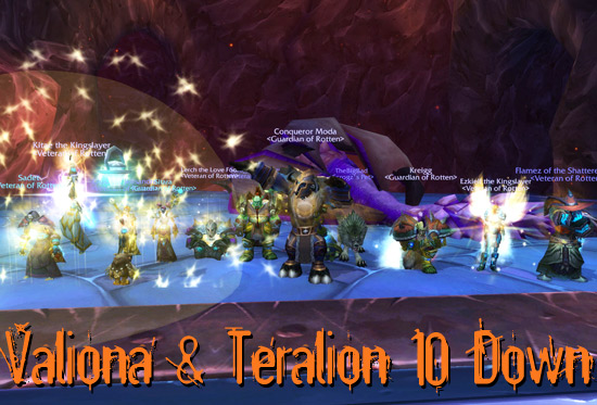 Valiona & Teralion 10 Down